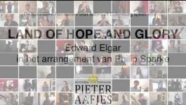 """Embedded thumbnail for Koniklijke Harmonie Pieter Aafjes speelt thuis """"Land of Hope and Glory"""""""