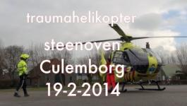Embedded thumbnail for traumahelikopter culemborg 19-2-2014