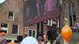 Embedded thumbnail for Aubade in Culemborg op de laatste Koninginnedag 30 april 2013