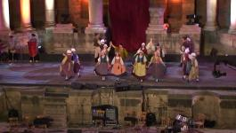Embedded thumbnail for Folkdancegroup Orient from Culemborg at the Bosra Festival in Syria, august 2009
