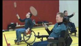 Embedded thumbnail for Aangepast badminton in Sporthal Parijsch te Culemborg