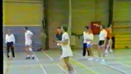 Embedded thumbnail for Training beginners BC Culemborg 1983 in sporthal Interweij