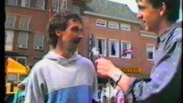 Embedded thumbnail for Oranjeloop Statina - 30 april 1987