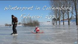 Embedded thumbnail for Winterpret in Culemborg Februari 2021