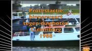 Embedded thumbnail for protestactie binnenvaart tegen duwboten Culemborg 1988