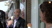 Embedded thumbnail for Uitreiking 1e ijsje Ciao Italia aan wethouder Van Oorschot
